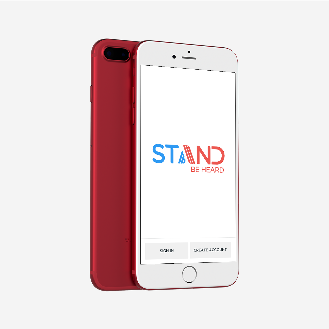 Stand Sign Up Screen